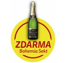 Bohemia Sekt ZDARMA k nákupu chladničky MORA