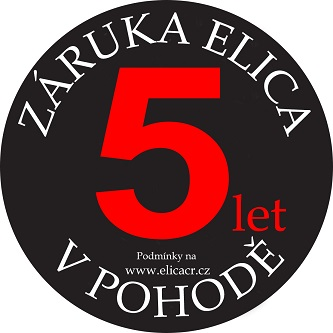 Záruka 5 let na odsavač ELICA
