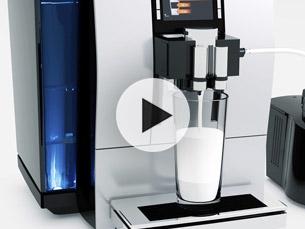 Příprava mléka a mléčné pěny, regulace teploty