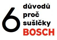 6 důvodů, proč sušičky Bosch