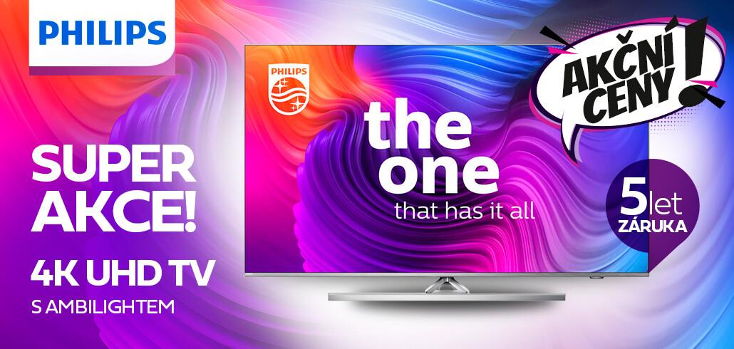 5ti letá záruka na Philips TV s technologií Ambilight