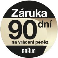BRAUN 100 dní záruka vrácení peněz
