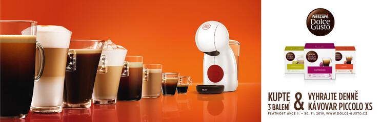 Soutěžte o nový kávovar INFINISSIMA