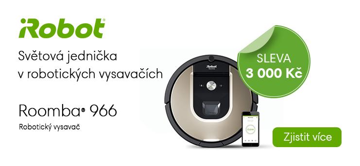 iRobot Roomba 966 s jedinečnou slevou 3000 Kč