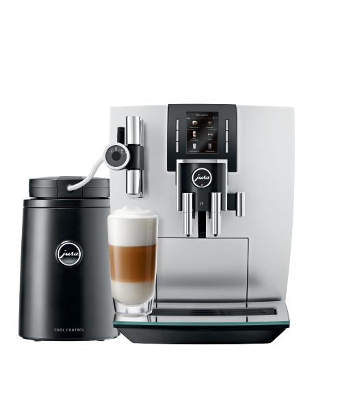 Ke kávovaru Jura J6 Brillantsilver nyní Cool Control Wireless 1l zdarma!