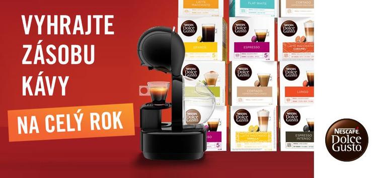 Vyhrajte kávu na rok ZDARMA!