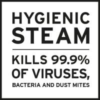 HYGIENIC STEAM - hygienicky čisté prádlo se značkou Laurastar