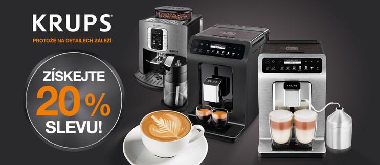 Akční SLEVY s espresso KRUPS!
