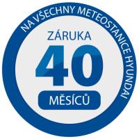 Záruka 40 měsíců na meteostanice Hyundai