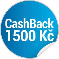 Candy CASHBACK - získejte 1 500 Kč zpět