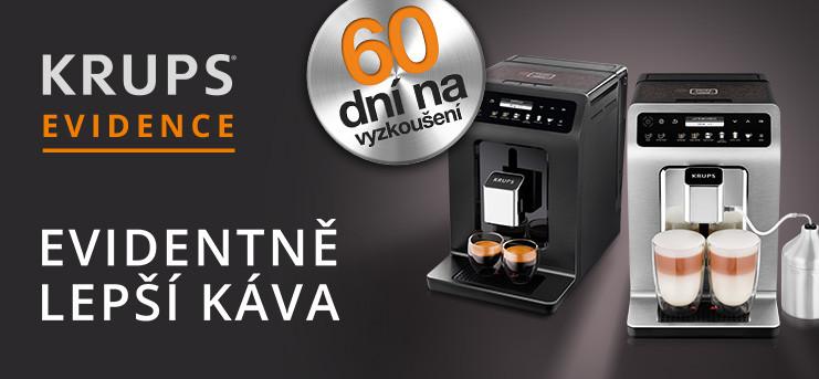 Kávovary Krups Evidence s garancí vrácení peněz!