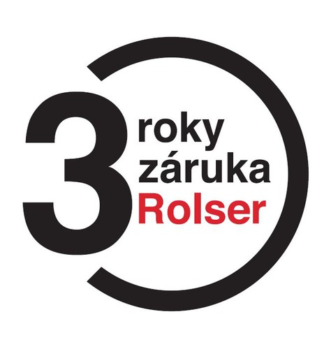 Rozšířená záruka 3 roky na výrobky Rolser