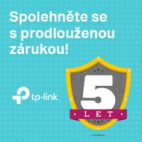 Prodloužená záruka 5 let s TP-Link