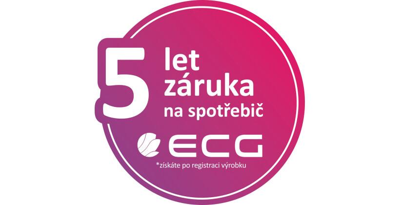 K vybraným produktům ECG záruka 24+12 měsíců