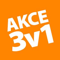 SUPER AKCE 3v1!