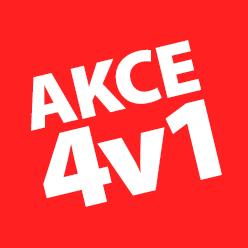 SUPER AKCE 4v1!